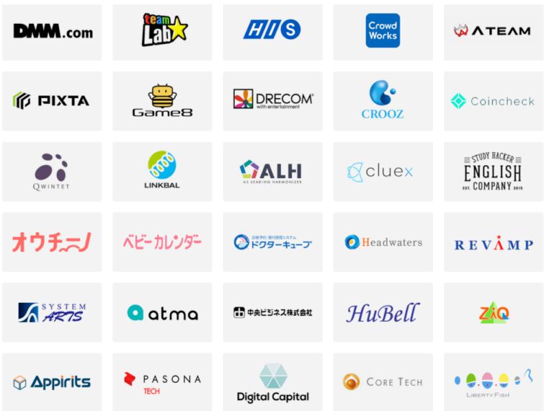 DMM WEBCAMP転職先企業例